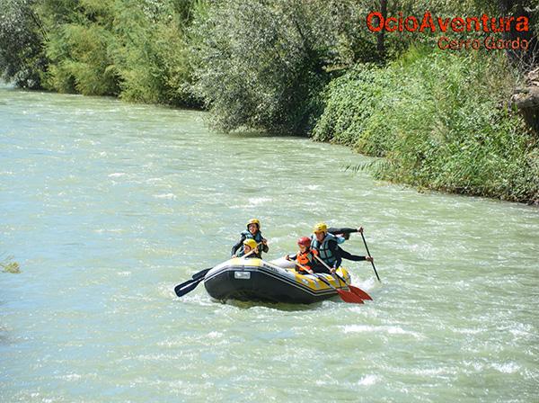 Rafting para niños en Córdoba