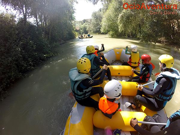 Rafting para niños en Granada
