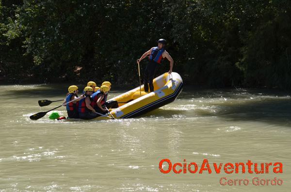 Rafting on Rio Genil.