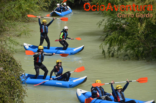 Canorafting in Málaga, Cordoba and Granada.